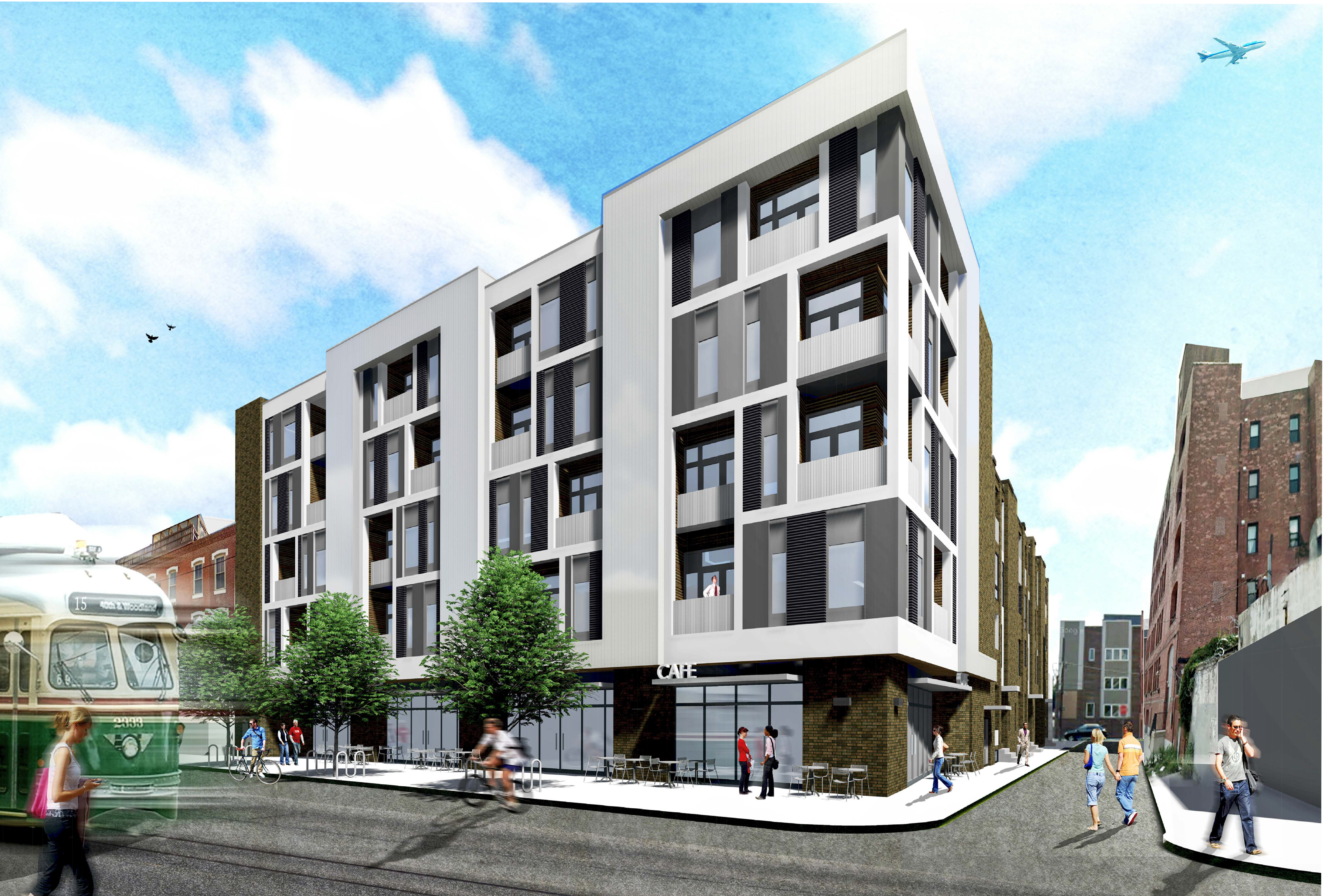 New Apartment Building Planned For And Girard Avenue The