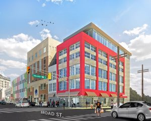 Renovation Plans To Expand Building Skyward On North Broad